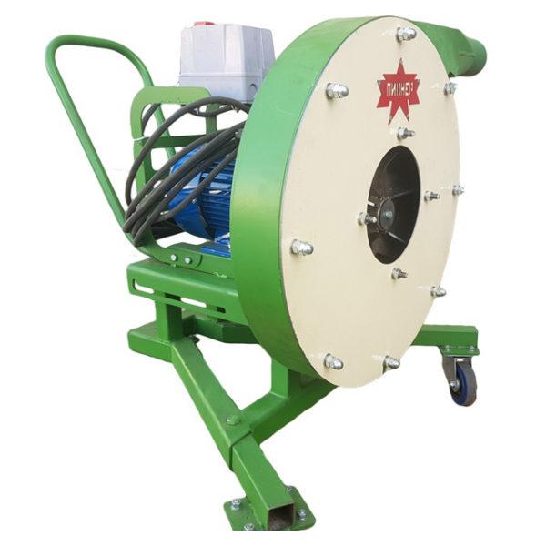 Роторная зернодробилка «Пионер» 5,5 кВт 380В (1-1.2 т/час)