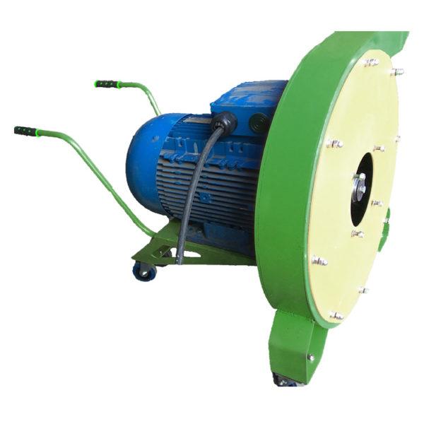 Роторная зернодробилка «Пионер» 11 кВт (2-3 тонны в час)